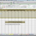 free spreadsheet for tax expenses