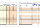 product feature comparison template excel