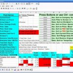 stock analysis excel template download