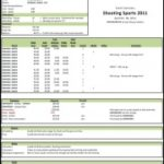 Boy Scout Troop Accounting Spreadsheet