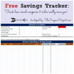 Coupon Spreadsheet App download templates