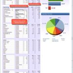 dave ramsey budget worksheet form 6