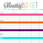 free Budget Spreadsheet For Ipad