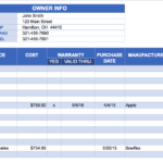excel spreadsheet for inventory management free