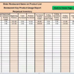 free excel spreadsheet for inventory control templates