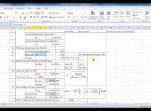 formwork calculation formula