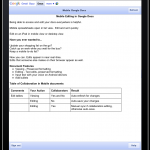 google docs for iphone