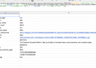 google docs spreadsheet merge cells