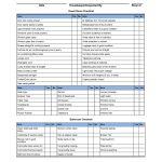 Hotel Linen Inventory Spreadsheet Templates